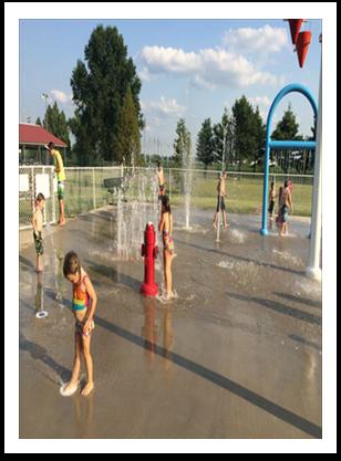 Hartford Illinois Splash Pad - Water Park